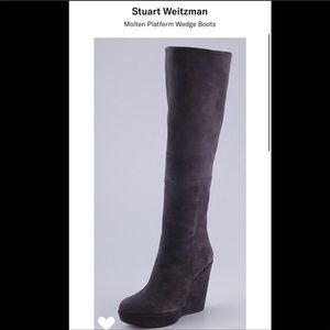 ❤️Authentic Stuart Weitzman Suede Knee High Boots!